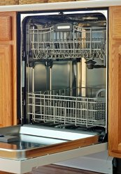 Dishwasher disguised as a Cabinet